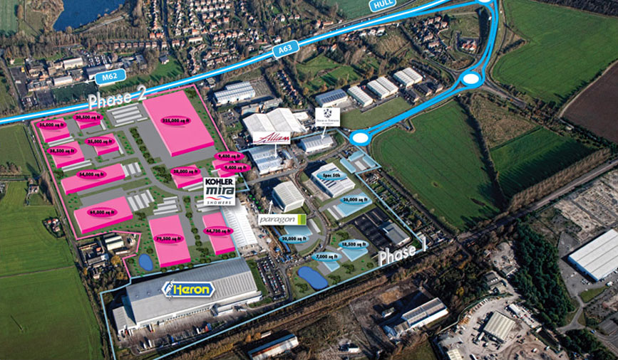 Meltonwest Business Park Site Plan
